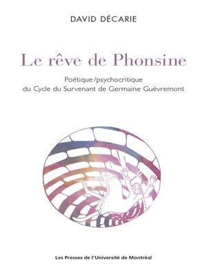 cover image of Le rêve de Phonsine