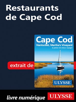 cover image of Restaurants de Cape Cod