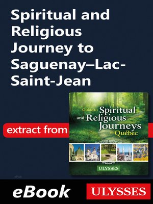 cover image of Spiritual and Religious Journey to Saguenay–Lac-Saint-Jean