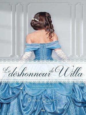 cover image of Le déshonneur de Willa