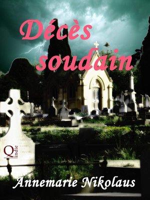 cover image of Décès soudain