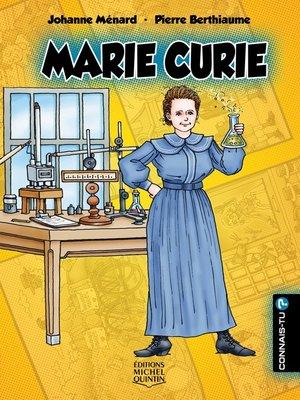 cover image of Connais-tu?--En couleurs 10--Marie Curie