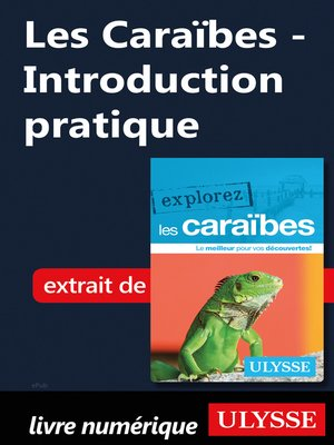 cover image of Les Caraïbes--Introduction pratique
