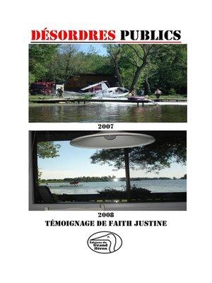 cover image of Désordres publics
