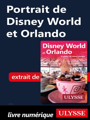 cover image of Portrait de Disney World et Orlando