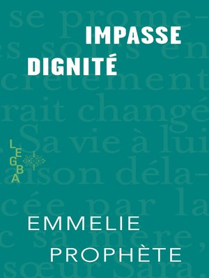 cover image of Impasse dignité