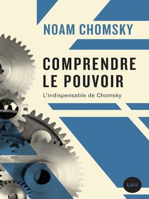 cover image of Comprendre le pouvoir