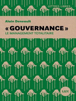 cover image of « Gouvernance »