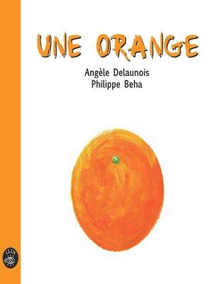 cover image of Une orange