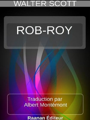 cover image of ROB-ROY