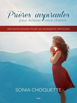 cover image of Prières inspirantes pour éclairer votre chemin