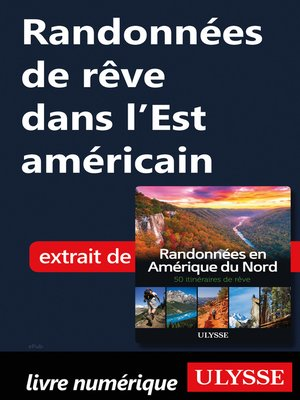 cover image of Randonnées de rêve dans l'Est américain