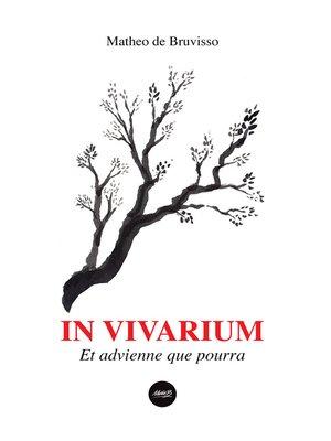 cover image of IN VIVARIUM