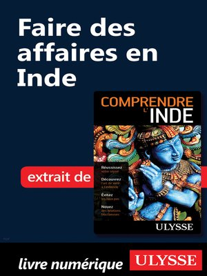 cover image of Faire des affaires en Inde