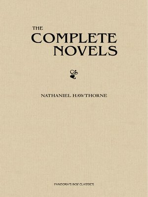 cover image of The Complete Novels of Nathaniel Hawthorne