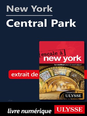cover image of New York--Central Park