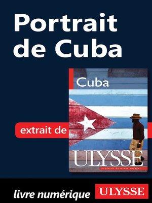 cover image of Portrait de Cuba