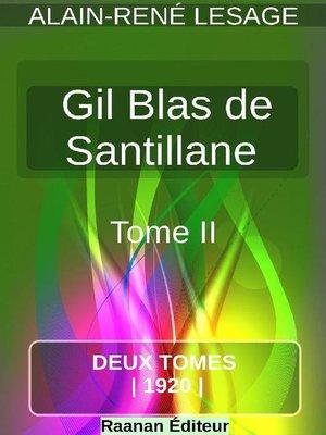 cover image of Histoire de Gil Blas de Santillane 2
