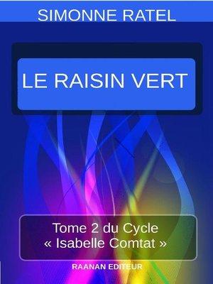 cover image of Le Raisin Vert