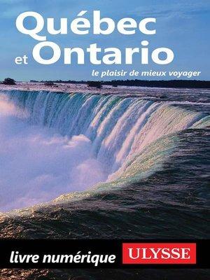 cover image of Québec et Ontario