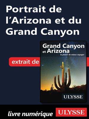 cover image of Portrait de l'Arizona et du Grand Canyon