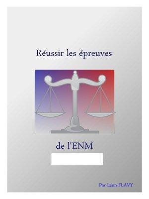 cover image of LE LIVRE DU CONCOURS ENM