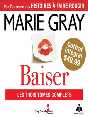 cover image of Baiser--coffret intégral
