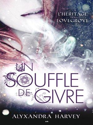 cover image of Un souffle de givre