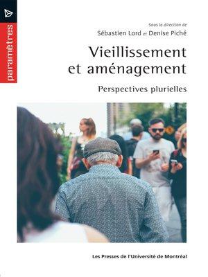 cover image of Vieillissement et aménagement