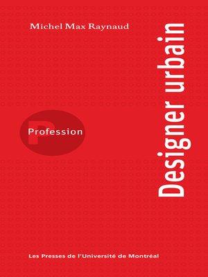 cover image of Profession designer urbain