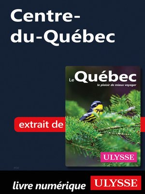 cover image of Centre-du-Québec