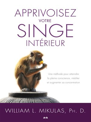 cover image of Apprivoisez votre singe intérieur