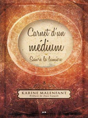 cover image of Carnet d'un médium