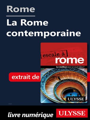 cover image of Rome--La Rome contemporaine