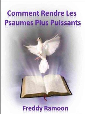 cover image of Comment Rendre Les Psaumes Plus Puissants
