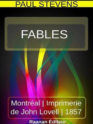 cover image of Fables de Paul Stevens