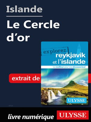 cover image of Islande--Le Cercle d'or