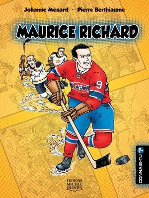cover image of Connais-tu?--En couleurs 5--Maurice Richard