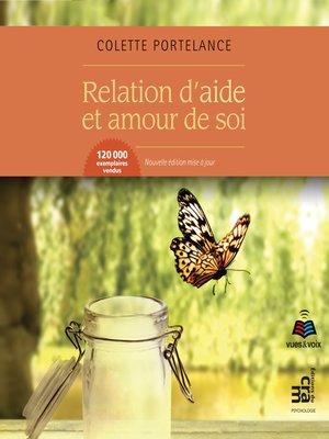 cover image of Relation d'aide et amour de soi