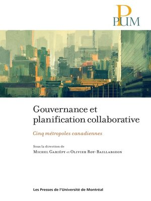 cover image of Gouvernance et planification collaborative
