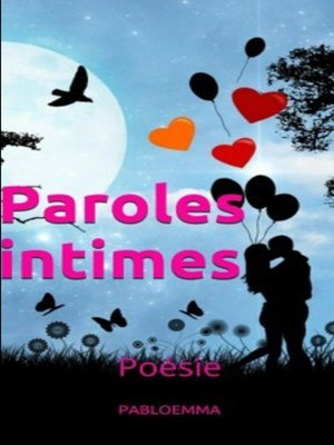 cover image of Paroles intimes