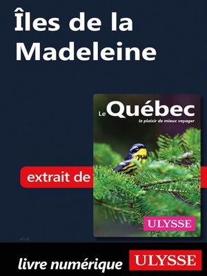 cover image of Îles de la Madeleine