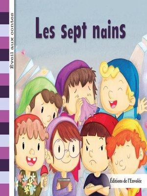 cover image of Les sept nains