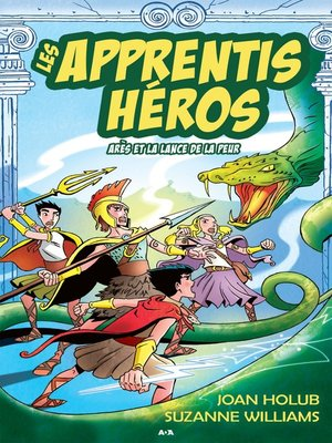 cover image of Arès et la lance de la peur