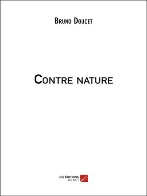 cover image of Contre nature