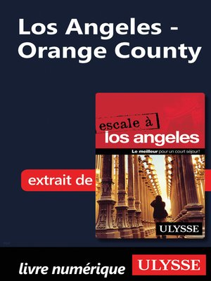 cover image of Los Angeles--Orange County