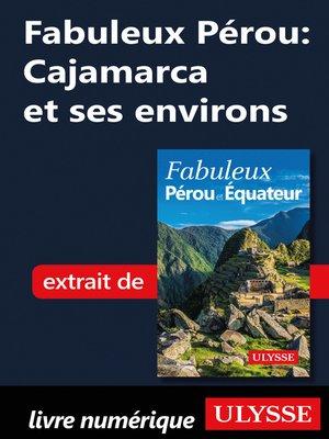 cover image of Fabuleux Pérou