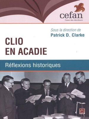 cover image of Clio en Acadie