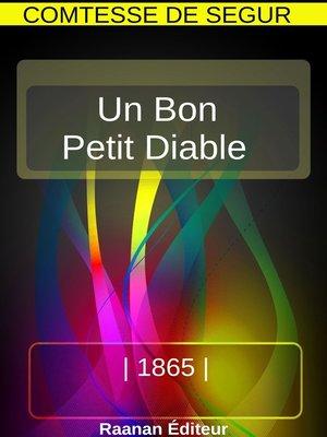 cover image of Un bon petit diable