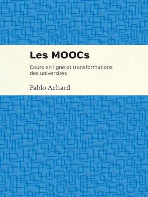 cover image of Les MOOCs